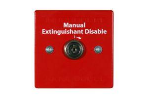 Nút khóa vô hiệu hóa hệ thống chữa cháy HCVR-DS