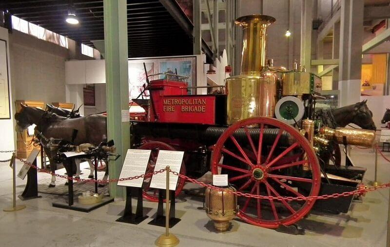 Mẫu xe cứu hỏa Shand Mason 1891