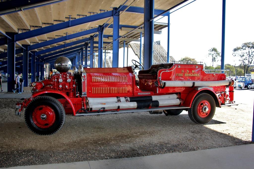 Mẫu xe cứu hỏa Ahrens Fox PS2 1929
