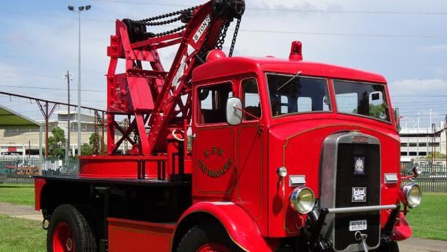 Mẫu xe cứu hỏa Leyland Crane 1939