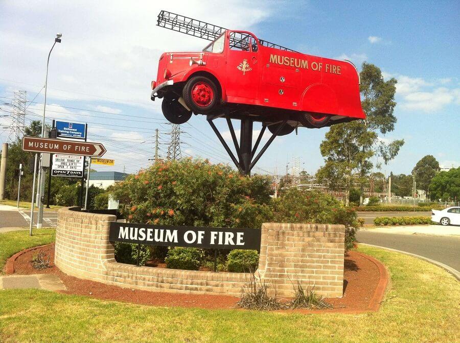 Bảo tàng chữa cháy Penrith, Úc