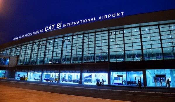 Bình An lắp hệ thống PCCC tại Cảng hàng không quốc tế Cát Bi, Hải Phòng