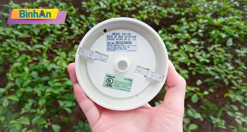 DSC-EA được chứng nhận chất lượng bởi UL - tập đoàn kiểm định uy tín hàng đầu của Mỹ.