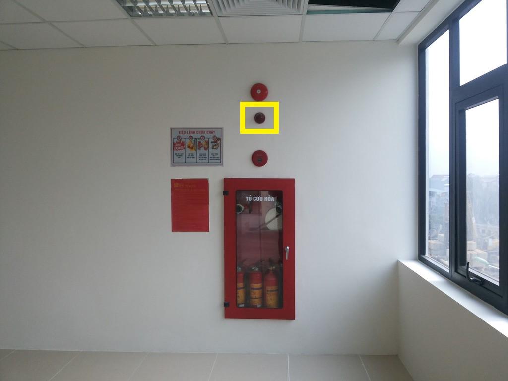 Đèn báo vị trí TL-14D được lắp đặt để thông báo vị trí của nút báo cháy khẩn cấp và các phương tiện chữa cháy ban đầu